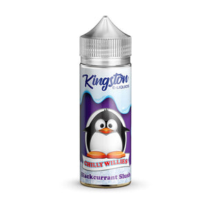 Kingston Chilly Willies - Blackcurrant Slush 100ml Shortfill - Lincolnshire Vapours