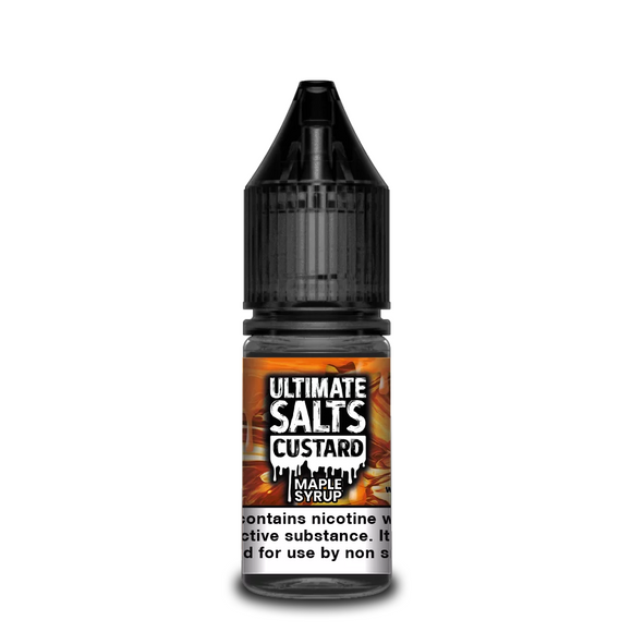 Ultimate Salts - Custard - Maple Syrup 10ml | Lincolnshire Vapours