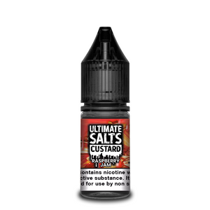 Ultimate Salts - Custard - Raspberry Jam 10ml | Lincolnshire Vapours