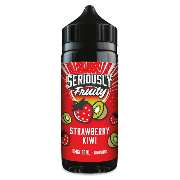 Seriously Fruity - Strawberry Kiwi 100ml Shortfill - Lincolnshire Vapours