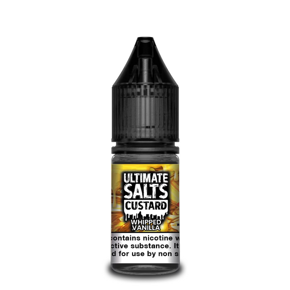 Ultimate Salts - Custard - Whipped Vanilla 10ml | Lincolnshire Vapours