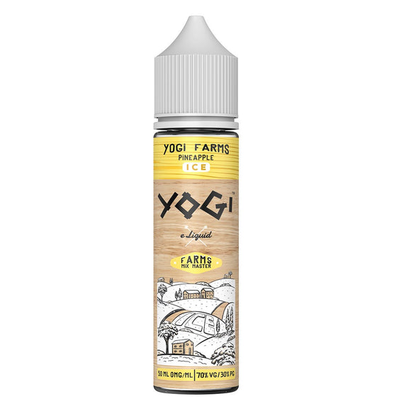 Yogi Farms - Pineapple Iced 50ml Shortfill - Lincolnshire Vapours