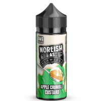 Moreish as Flawless - Apple Crumble Custard 100ml Shortfill | Lincolnshire Vapours