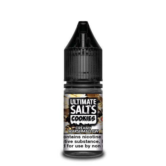 Ultimate Salts - Cookies - Creamy Marshmallow 10ml | Lincolnshire Vapours