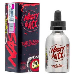 Nasty Juice - Bad Blood 50ml Shortfill | Free UK Delivery | Lincolnshire Vapours
