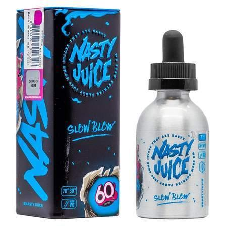 Nasty Juice - Slow Blow 50ml Shortfill - Lincolnshire Vapours