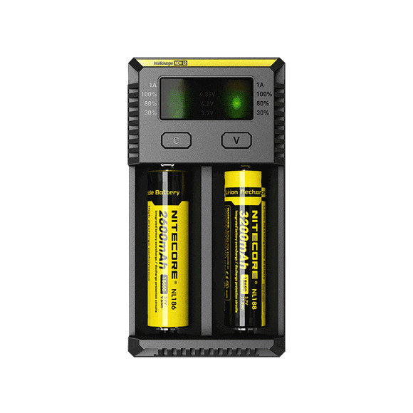 NiteCore Intellicharger i2 Battery Charger | Free UK Delivery | Lincolnshire Vapours