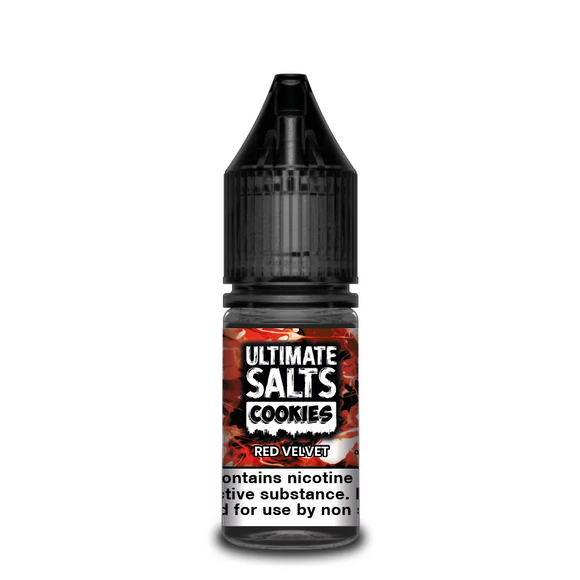 Ultimate Salts - Cookies - Red Velvet 10ml | Lincolnshire Vapours