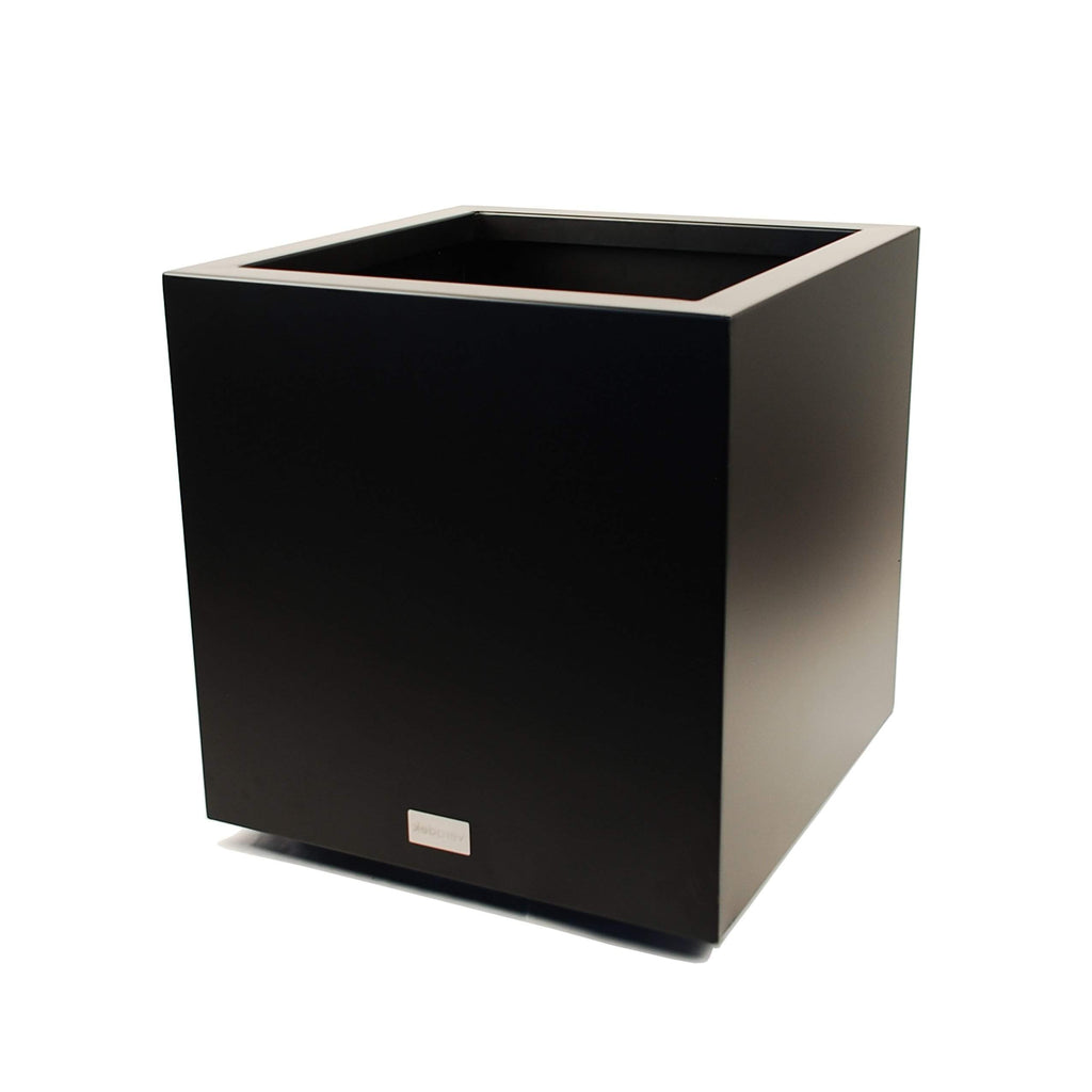 Metallic Series Cube Planter, metal planter