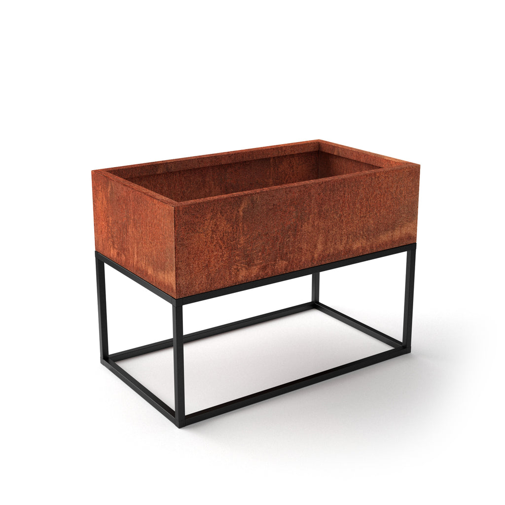 Corten Steel Raised Garden Bed Planter