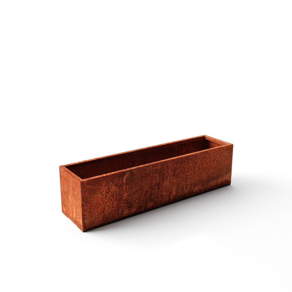 Corten Steel Window Box Planter