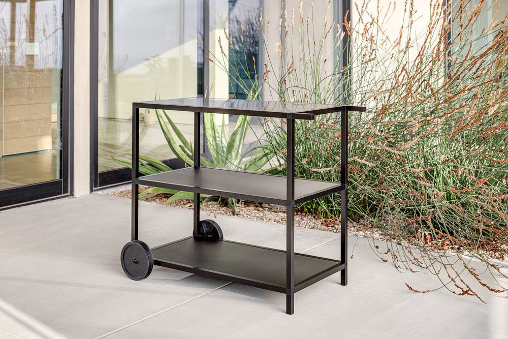 Outdoor Kitchen Series Bar Cart - Stainless Steel