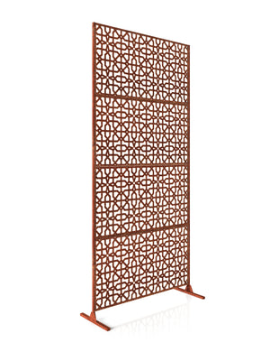 Veradek Corten Steel Screen Set - Parilla