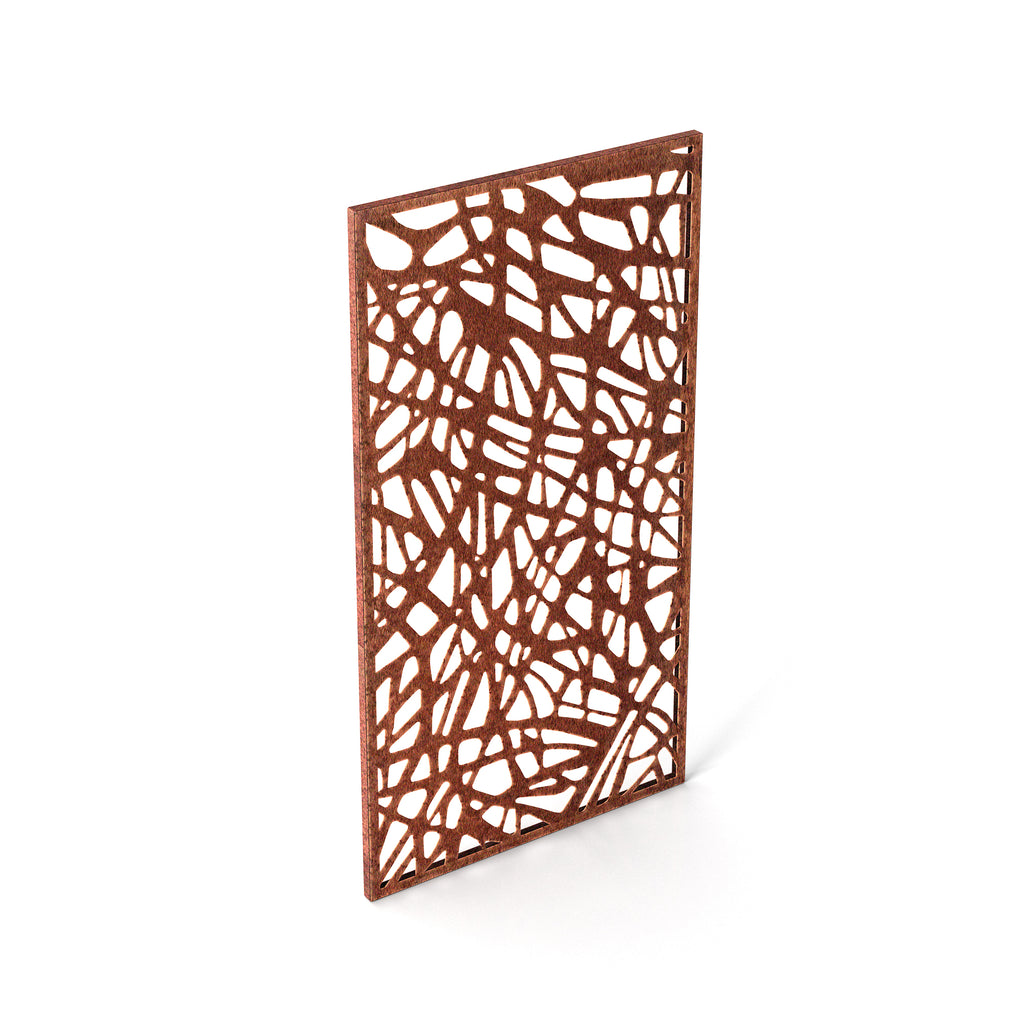 Veradek Corten Steel Screen Panel - Web