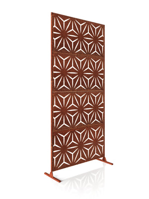 Veradek Corten Steel Screen Set - Star