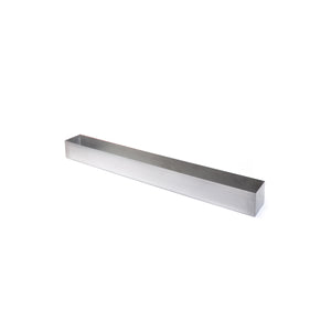 GEO Trough Planter, Metal Planter, Metallic Planter, Modern Planter, window box planter, rectangular planter, Indoor planter, stainless steel