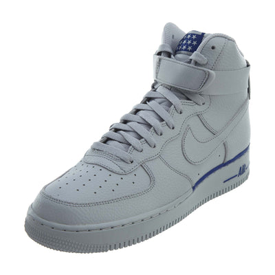 Nike Air Force 1 High '07 Wolf Grey Deep Royal Mens Style :315121