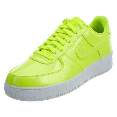 Nike Air Force 1 07 Lv8 Patent Leather Volt Neon  Mens Style :AJ9505