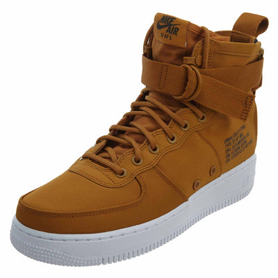 Nike SF Air Force 1 Mid 'Desert Ochre'  Mens Style :917753