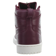 Air Jordan 1 High Zip Premium Bordeaux Womens Style :AT0575