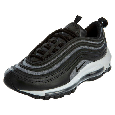 Nike Air Max 97 Glitter Black White Running  Womens Style :AT0071