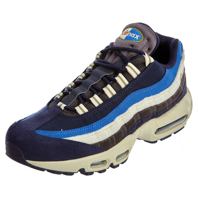 Nike Air Max 95 Premium 'Blackened Blue'  Mens Style :538416
