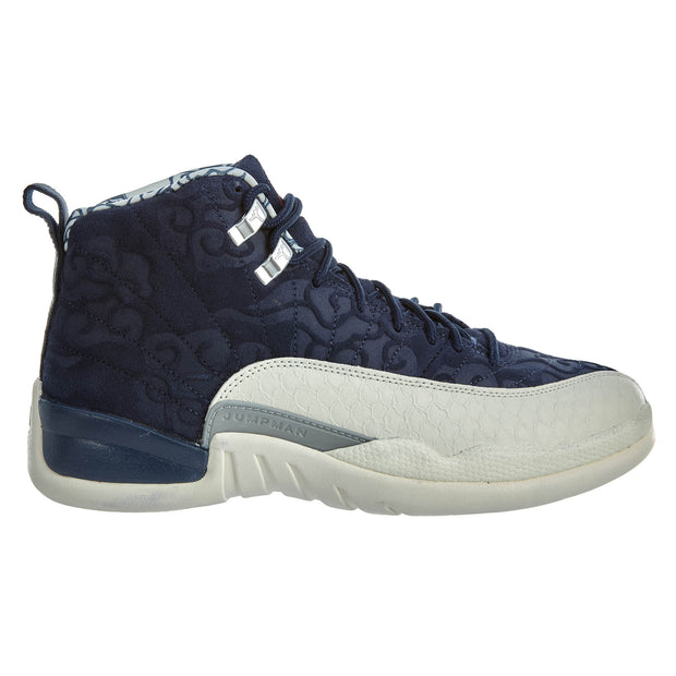 Air Jordan 12 Retro PRM - college navy Mens Style :BV8016