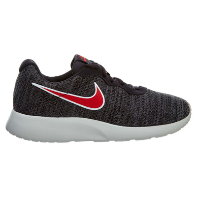 Nike Tanjun Premium Shoes Oil Grey Red Athletic Mens Style :876899