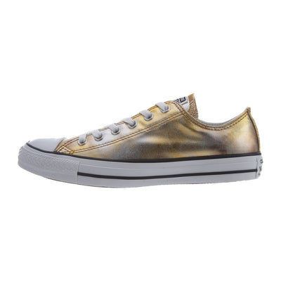 Converse Chuck Tailor All Star Ox Unisex Style : 157655f-SILVER/GOLD/WHITE