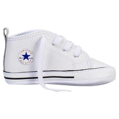 Converse First Star Chuck Taylor Infant Leather Crib Style : 81229