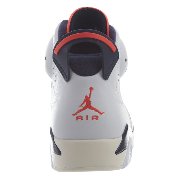 "Air Jordan 6 Retro ""tinker Hatfield""- white Mens Style :384664"