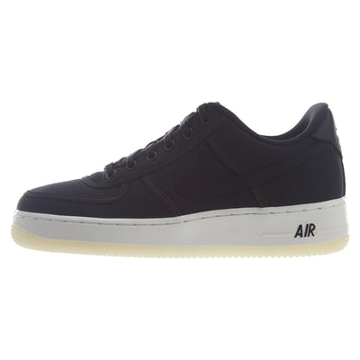 Nike Air Force 1 Low Retro QS Black Canvas  Mens Style :AH1067