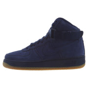 Nike Air Force 1 Mid Suede Blue/Void  Boys / Girls Style :807617