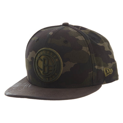 New Era Sueded Up 950 Brooklyn Nets Snapback #30 Unisex Style : 11826827-CAMO
