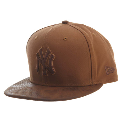 New Era Sueded Up 950 New York Yankee Snapback #30 Unisex Style : 11812254-BROWN