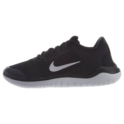 Nike Free RN 2018 Running Shoes Black GS Youth Boys / Girls Style :AH3451
