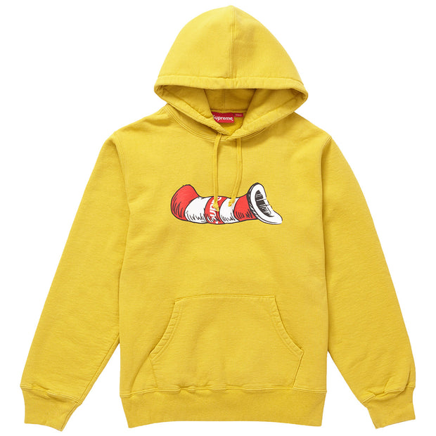 Supreme Cat In The Hat Hooded Sweatshirt  Mens Style : Sup-ctithhd-MSTRD