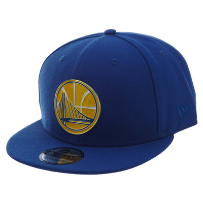 New Era Gilded Front Golden State Warrior Strapback #54 Womens Style : 11831040-ROYAL