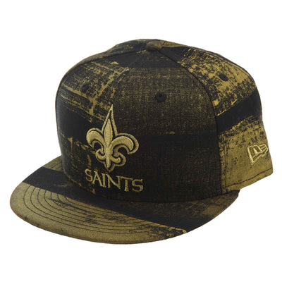New Era Painted Prime 950 New Orleans Saints Snapback #32 Unisex Style : 80637794-GOLD