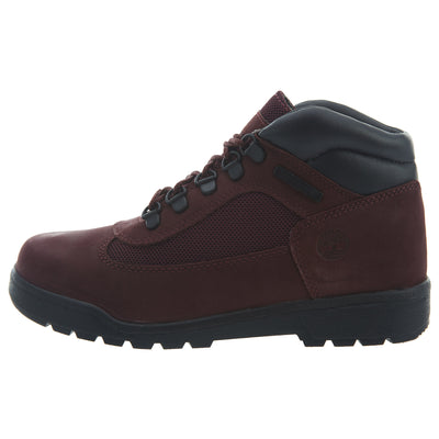 Timberland Field Boots Big Kids Style : Tb0a1arr-Burgundy