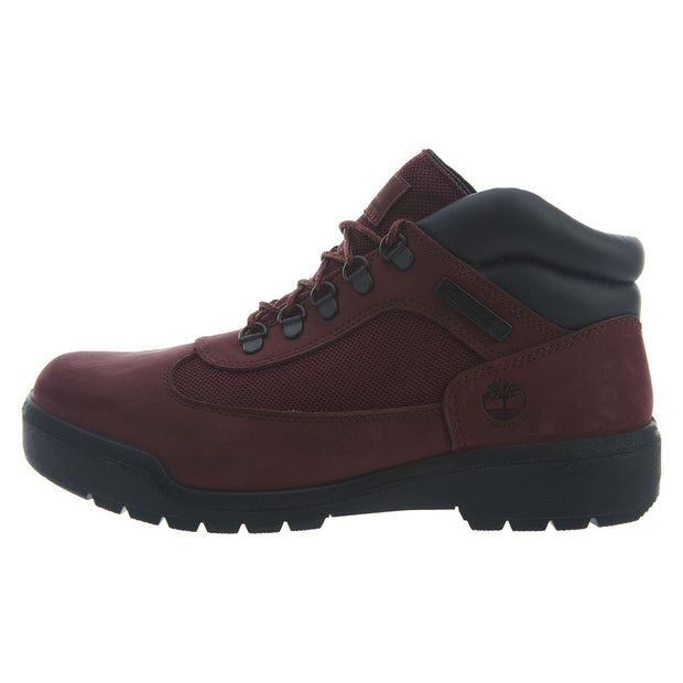 Timberland Field Boots Mens Style : Tb0a1a2u-Burgundy