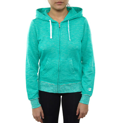 Champion European Collection Distressed Full Zip Hoodie (Limited Edition) Womens Style : Ceww54-GQJ