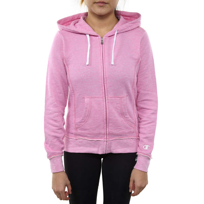 Champion European Collection Distressed Full Zip Hoodie (Limited Edition) Womens Style : Ceww54-409