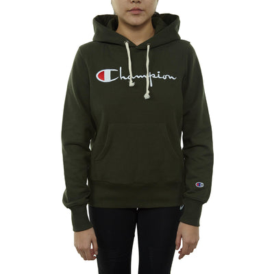 Champion Pullover Hoodie Womens Style : 110034-LGR