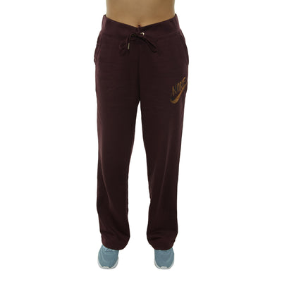 Nike Sportswear Metallic Fleece Pants Womens Style : 939306-652