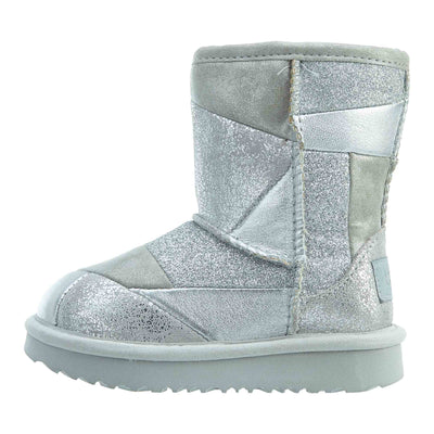 Ugg Classic Short Ii Patchwork Toddlers Style : 1096431t-SLVR
