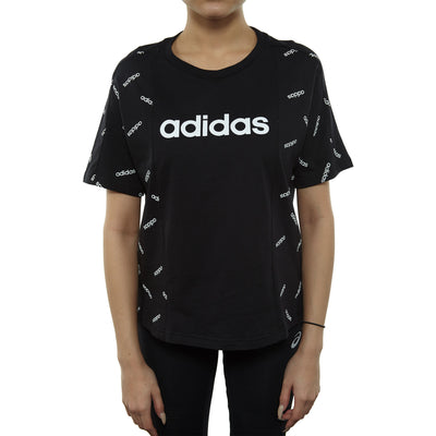 Adidas Aop Tee Womens Style : Dw8017-Blk