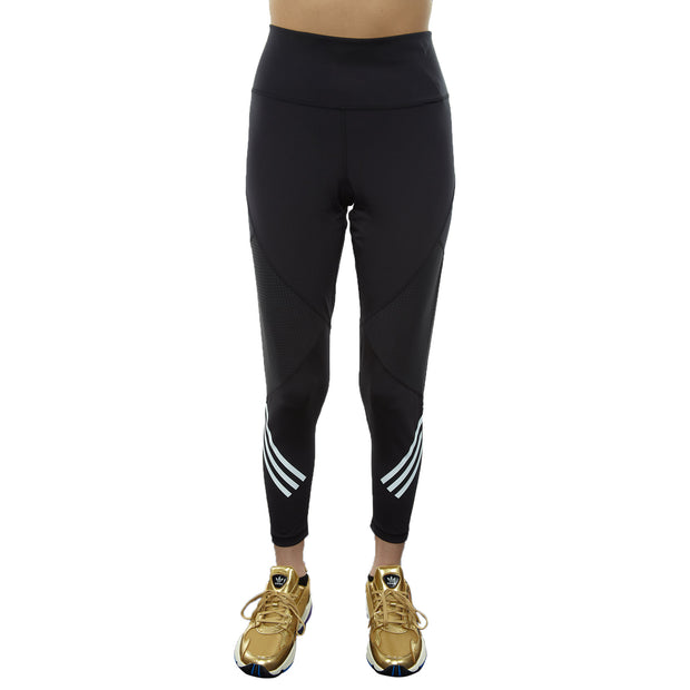 Adidas Believe This High Rise 7/8 S 3-stripes Tight Womens Style : Dx0487-Blk