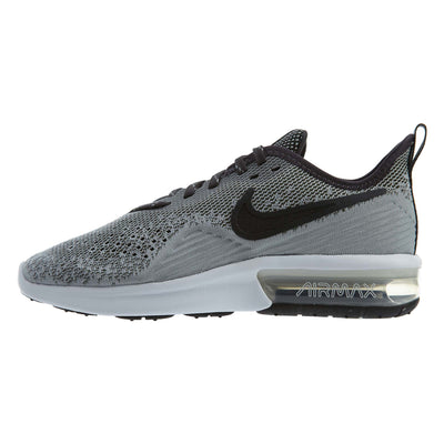 Nike Air Max Sequent 4 Black/Black-White Womens Style :AO4486
