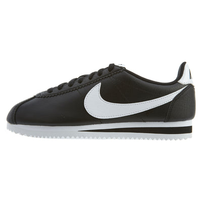 Nike Classic Cortes Casual Shoes Black Womens Style :807471